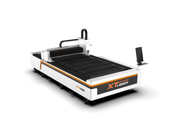 Open type laser cutting machine
